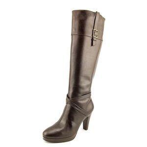 Cole Haan brown boots.